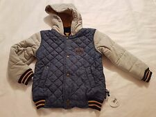 "Mothecare ""My K"" Kids Boy Padded Parka Jacket size 5-6 years Brand New With Tag"