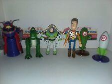 "Disney Toy Story 6"" scale Emperor Zurg, Rex , Woody, Buzz Action Figure lot"