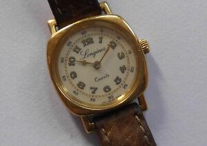 Schöne Damen LONGINES Art Deco 150 J. Quarz vergoldet Vintage 80er Swiss Uhr