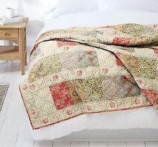 John Lewis Gracie Patchwork Bedspread Quilt Throw LARGE L260 x W250cm BNIB