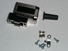 50 x  D Sub Haube abgewinkelt, metallisiert,  9 pol. Verbinder, Typ  FKS1A  FCT