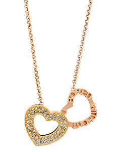 Swarovski Admiration 18k Rose Gold-Plated Crystal Pendant Necklace 5348670
