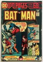 Batman #259 Giant. DC 1974. Bronze Age VG condition.