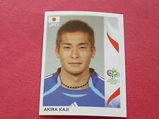 438 AKIRA KAJI JAPAN PANINI FOOTBALL GERMANY 2006 WM FIFA WORLD