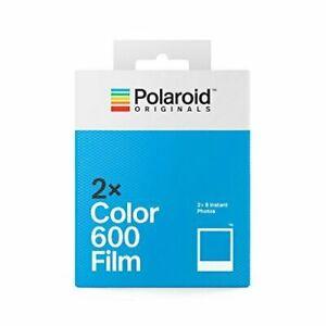 Polaroid Color Film for 600 - Double Pack (16 Sheets)  QIK QIK SHIP