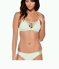 NEW L SPACE Bikini Jaime Top Mint Medium