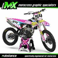 MX Graphics: Thumpstar Dirty C 110 Pit Bike Pitbike Custom Graphics Kit