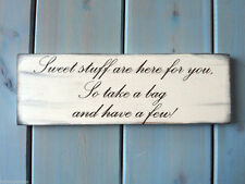 Contemporary Wooden Decorative Hanging Signs