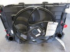 11-13 BMW 5 SERIES F10 F11 RADIATOR CONDENSER FAN COOLING ASSEMBLY OEM CO00030