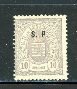 Luxembourg Scott # O47 - MH - CV=$160.00 - Nice