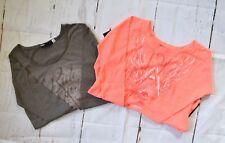 $76 Fox Racing Women's Long Sleeve Shirts(two pieces) - Titanium/Atomic P sz XS