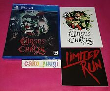 Jeu Video Sony Playstation 4 Ps4 complet Limited Run 34 Curses'n Chaos