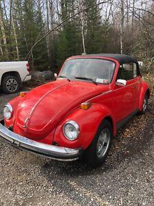 Volkswagen: Beetle - Classic Convertible