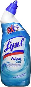 Lysol Toilet Bowl Cleaner 24Oz Spring Waterfall (Pack of 2) 26714-2