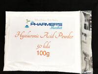Pure Hyaluronic Acid Powder All Molecular Weights Cosmetic & Food Grade Vegan