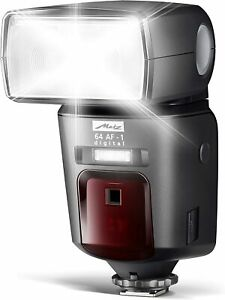 MECABLITZ digital strobe with color touch panel for Sony