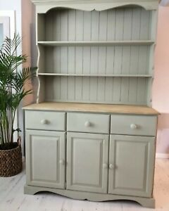 Welsh dresser display cabinet (10 miles free delivery)