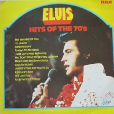 ELVIS PRESLEY - HITS OF THE 70'S  - LP - MONO