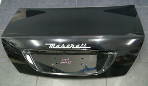 Maserati Quattroporte V Tailgate Boot Lid Rear Black Nero M139