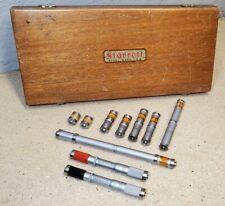 Starrett No 244 Precision End Measuring Rods Set