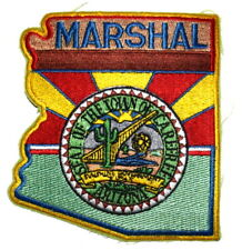 CAREFREE – MARSHAL - ARIZONA AZ Sheriff Police Patch – STATE SHAPE -