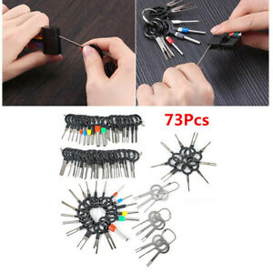 Car Key Pin Plug Terminal Remove Tool Electrical Wire Crimp Connector Extractor