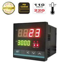 Universal PID Temperature Controller w SSR Output & 2 Alarms in ℃ or ℉ (72*72)