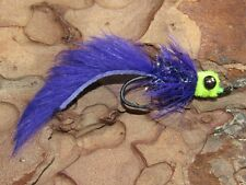 6 Starlight Leech Steelhead Salmon Spey Fly Fishing Trout Bass Flies Assortment