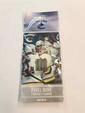 VANCOUVER CANUCKS NHL - PAVEL BURE - FOREVER A CANUCK PIN .