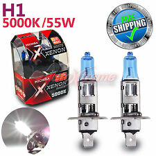 MICHIBA H1 12V 55W 5000K Xenon SUPER WHITE Vision Halogen Light Bulbs Low Beam