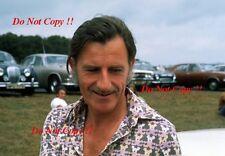 Graham Hill F1 1975 fotografía de retrato