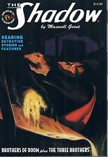 "The Shadow #93 ""Brothers of Doom"" & ""The Three Brothers"" Maxwell Grant PB 2015"