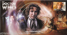 2013 Dr Who (Stamps) - Scott 8th Doctor Official (Unsigned)