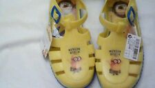 Next Infant Girls Minion beach Jelly Bean shoes Size 7 BNWT ****