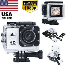 12MP 1080P Full HD Waterproof Sports Action Camcorder Recorder DV Camera Car Cam