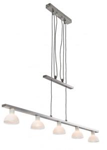 Deckenleuchte Nino Priso 61420408 Wohnraumlampe Schwenkbar Glas Weiß E14