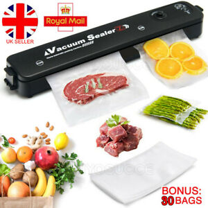 Commercial Vacuum Sealer Machine Automatic Food Saver Storage Dry Moist Sealing