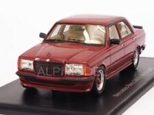 Mercedes 280E AMG W123 1980 Metallic Dark Red 1:43 NEO 45538