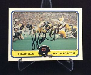 WALTER PAYTON AUTOGRAPHED CARD