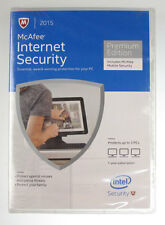 McAfee Internet Security 3 PCs 1 Year Premium Edition w/ Mobile Security Current