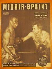 Miroir-Sprint N° 286 du 03/12/1951-Humez a souffert pour battre Bobby Dawson