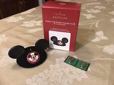 2020~Hallmark~Disney The Mickey Mouse Club 65Th Anniversary~Free Batteries Nib