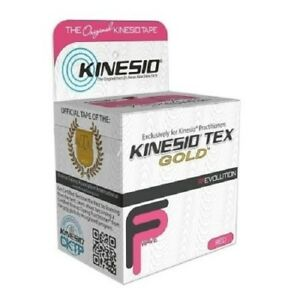 McK Kinesio Tex Gold Kinesiology Tape 2 Inch X 5.5 Yard - Box of 6