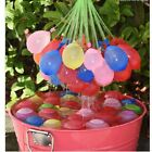 3 bunches 111x Magic Water Balloons Bombs Colorful Kids Garden Party Summer Game