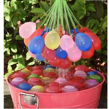 111pcs Magic Already Tied Water Balloons Bombs Kids Garden Party Summer Toy Gift