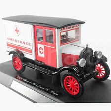 NewRay 1:32 Die-cast 1924 Chevy Series H Ambulance Classic Car White Color Model