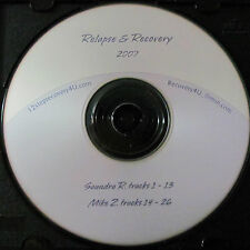 Relapse & Recovery Saundra & Mike 2 Overeaters Anonymous Speakers 1 CD OA talks