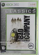 jeu BATTLEFIELD BAD COMPANY 1 classics sur xbox 360 francais guerre fps spiel