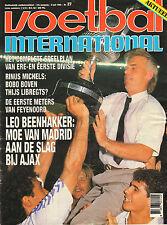 V.I. 1989 nr. 27  - WIEL COERVERIN DUBAI/DENEMARKEN/LEO BEENHAKKER(NAAR AJAX)