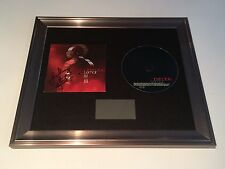 PERSONALLY SIGNED/AUTOGRAPHED LEMAR - INVINCIBLE FRAMED CD PRESENTATION. RARE